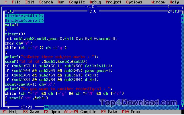 Turboc-windows-1